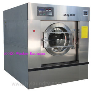 Hot Sell Fully Automatic Industrial Washing Machine 15-150kg pictures & photos