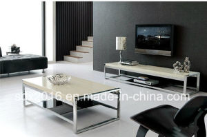 Modern Densign Home Furniture Glass Center Coffee Table Tea Table pictures & photos