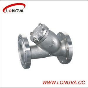 Wenzhou CF8/CF8m Flange Y-Type Strainer pictures & photos