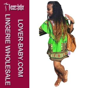 African Dashiki Traditional Dress for Lady (L28064) pictures & photos