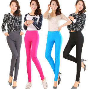 Fashion Women Color Cotton Skinny Legging (SR8209) pictures & photos