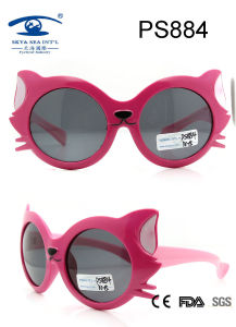 Fox Cartoon Kids Sunglasses, Top Selling Plastic Material Rubber Finished Kid Sunglasses (PS884) pictures & photos