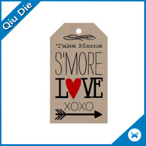 Vogue Kraft Hang Tag for Jeans pictures & photos