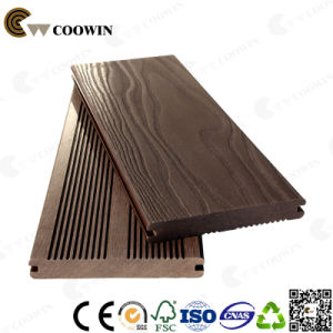 Blue Grey Color 3D Surface Outdoor WPC Decking pictures & photos