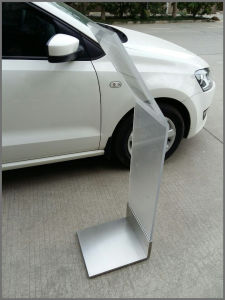 Acrylic Floor Stand with Holder for Magazine pictures & photos