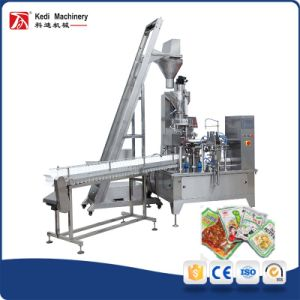 Soy Sauce Pickles Rotary Packaging Machine Unit (GD6-200E) pictures & photos