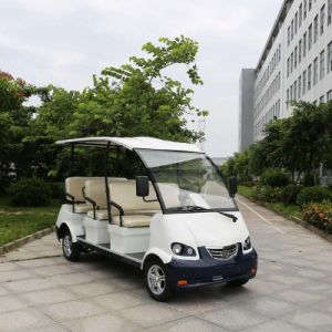 Ce Certificated Hot Selling Electric Sightseeing Bus with 8 Seaters Dn-8 pictures & photos