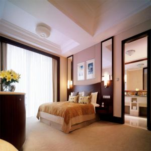 Commercial Furniture General Use Wood Type Hotel Room Beauty Bedroom Set Furniture