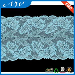 Hot Sale Good Quality Stretch Jacquard Lace Trims for Garments pictures & photos