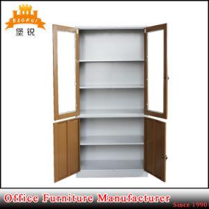 Fashion Metal Glass Door Storage Cabinet pictures & photos