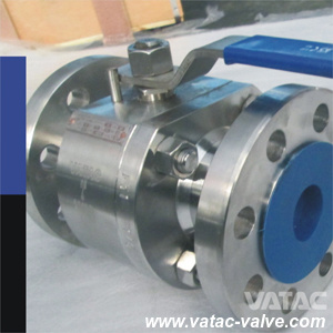 Vatac Forged Steel Flange / Screwed Ball Valve pictures & photos