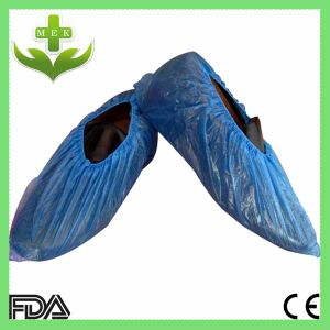 Disposable PE Shoe Cover by Machine pictures & photos