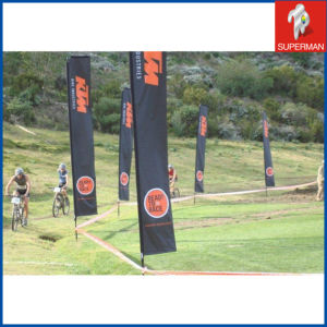 Sports Display Polyester Flag Banner, Feather Flag (SM050079)