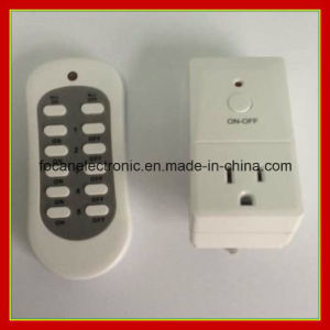 Wireless Remote Control Power Outlet 120V-230V Us Plug Socket Switch for Light pictures & photos