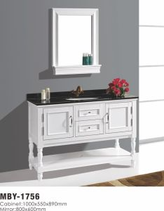 48 Inch Modern Single Sink Solid Wood Bathroom Vanity pictures & photos