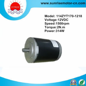 12V 2n. M 314W 1500rpm Magnet DC Motor pictures & photos