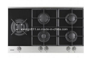 Tempered Glass 5 Burners Gas Hobs
