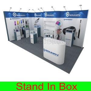 Custom Portable Modular Island Inline Corner Hybrid Trade Show Stand pictures & photos