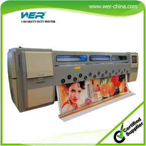 Wer-SD3408 CE ISO Approved High Quality Cheap Price Flora Solvent Printer pictures & photos