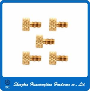Brass Knurled Thumb Screw Made in China pictures & photos