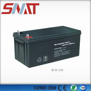 12V250ah Sealed Lead Acid Battery for UPS, Inverter, Street Lamp pictures & photos