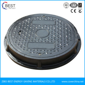 SMC En124 500mm Round Composite Manhole Cover with Competitive Price pictures & photos
