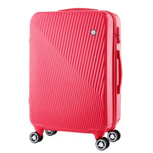 Red Fashion PC Travel Trolley Luggage Case pictures & photos