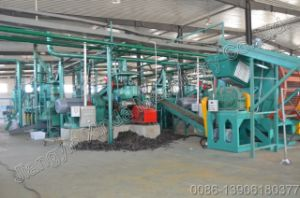 Waste Tire Recycling Rubber Powder Plant pictures & photos