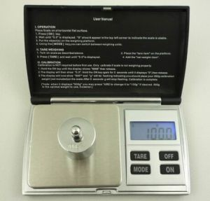 Hotsell Pocket Scale with LCD Display pictures & photos