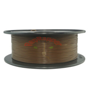 Well Coiling PLA 1.75mm Chocolate 3D Printing Filament pictures & photos