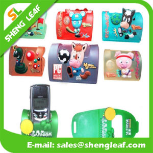 Logo Custom Rubber Cell Phone Holder pictures & photos