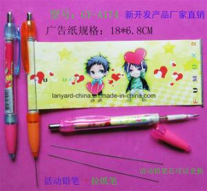 Promotion Plastic Customized Logo Banner Pen