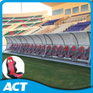 Premium Curved Soccer Substitute Bench Factory for Stadium pictures & photos