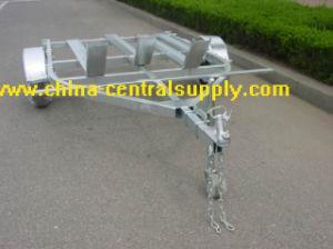 Steel Facotry Made 3 Rail Motorcycle Trailer (CT0302) pictures & photos