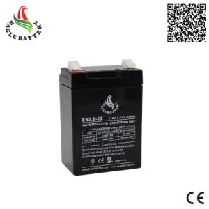 12V 2.6ah VRLA Rechargeable Lead Acid Battery for Alarm System