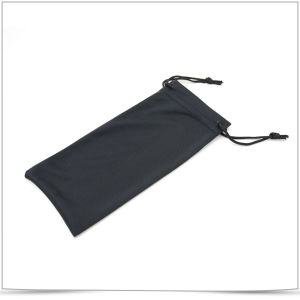 Custom Double Side Drawstring Mobile Phone Pouch with Logo pictures & photos
