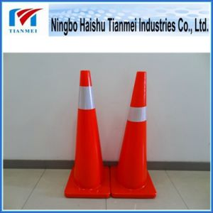 900mm Height Road Safety Cone, PVC Cone pictures & photos