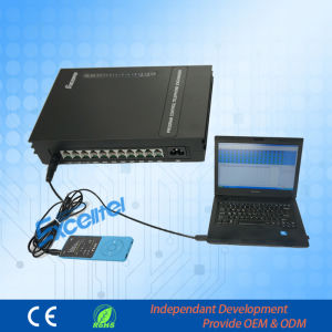 Group Telephone System 3 Co Lines 8 Extensions Pabx with PC Keyphone pictures & photos