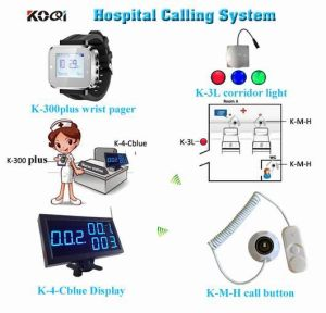 Factory Price Wireless Nurse Paging System for Patient pictures & photos
