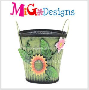Handbag Shaped Metal Art Iron Flower Planter pictures & photos