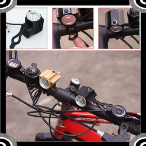 High Power Aluminum Bicycle Light Set pictures & photos