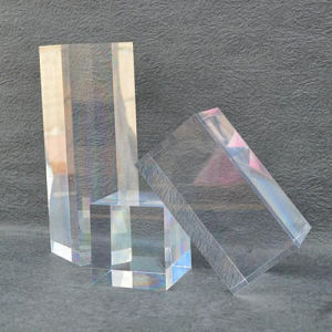 3 Piece Square Acrylic Cube Set pictures & photos