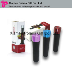Alumnium Alloy Red Wine Bottle Vacuum Stopper pictures & photos