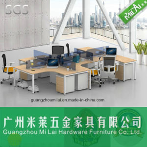 High Quality Office Staff Desk with Steel Frame Table Leg pictures & photos
