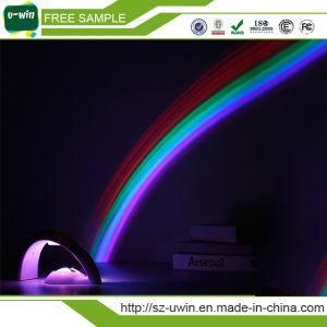 Room Magic Colorful LED Rainbow Projector Night Light pictures & photos