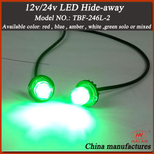 LED Hideaway Strobe Light/Flashing Warning Hideaway Lights/DC12-24V Hide Away Kits pictures & photos