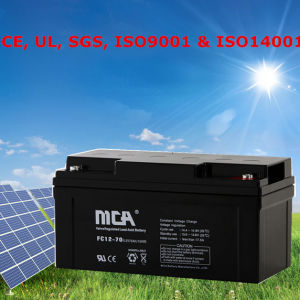 Deep Cycle Battery 12V Motive Battery 70ah pictures & photos