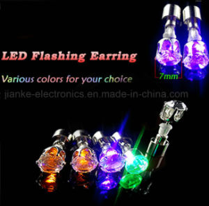 Cool Shiny Earrings Studs Light for Party Club Xmas Gift pictures & photos