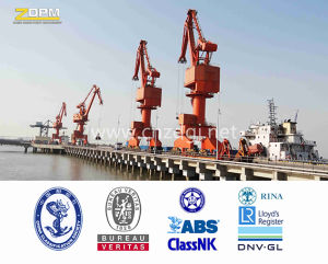Widely Used Four-Link Level Luffing Portal Crane pictures & photos