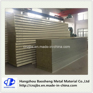 Heat Resistant Foam Protection Rockwool Roofing Tile Sandwich Panels pictures & photos